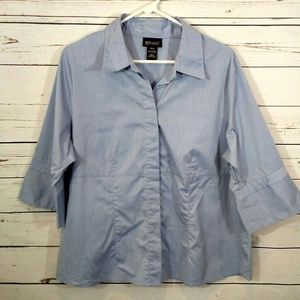 Lane Bryant button down blouse size 14/16